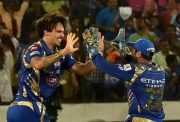 IPL 2017 Mitchell Johnson of Mumbai Indians IPL Final