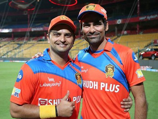 Mohammad Kaif and Suresh Raina