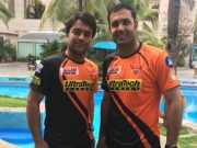 Mohammad Nabi and Rashid Khan of Afghnaistan