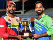 Rajgopal Satish and Dinesh Karthik