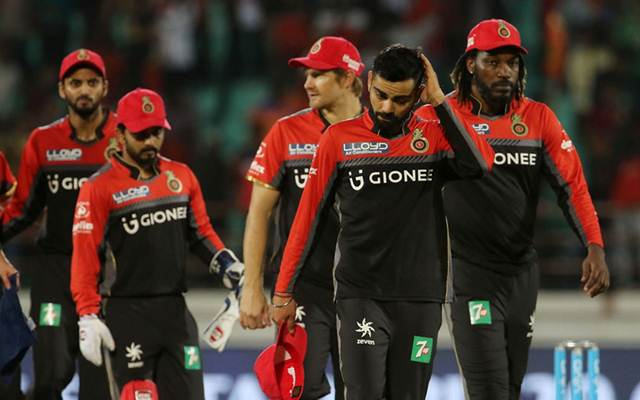 CT Stats: Lowest totals by Royal Challengers Bangalore in IPL