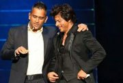 Shah Rukh Khan and MS Dhoni