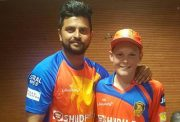 Suresh Raina and Riley McCullum