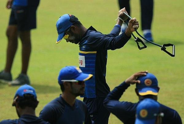Upal Tharanga of Sri Lanka