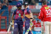Ajinkya Rahane and Steven Smith captain of Rising Pune Supergiant