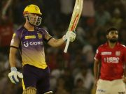 Chris Lynn of Kolkata Knight Riders