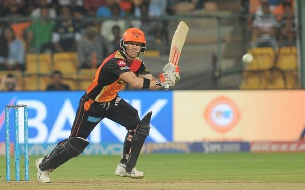 Sunrisers Hyderabad skipper David Warner