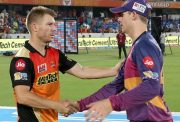 David Warner and Steve Smith Rising Pune Supergiant