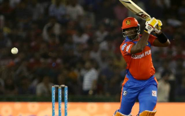 Dwayne Smith of Gujarat Lions