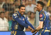 Mumbai Indians skipper Rohit Sharma and Hardik Pandya