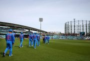 India v New Zealand - ICC Champions Trophy Warm-up