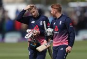 England's Jonny Bairstow and Joe Root
