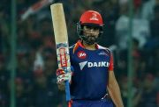 Karun Nair of the Delhi Daredevils
