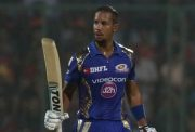Lendl Simmons of Mumbai Indians