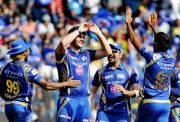 Mitchell McClenaghan of Mumbai Indians IPL BCCI