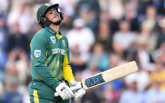 Quinton de Kock of South Africa