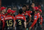 Avesh Khan of Royal Challengers Bangalore IPL