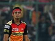 Siddharth Kaul of Sunrisers Hyderabad