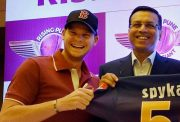 Steve Smith and Sanjiv Goenka IPL