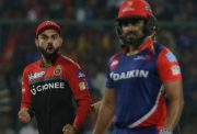 New Delhi: Virat Kohli and Shane Watson of Royal Challengers