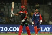 Royal Challengers Bangalore captain Virat Kohli in the IPL