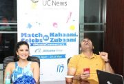 Virender Sehwag and Sunny Leone