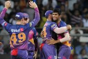 Washington Sundar of Rising Pune Supergiant