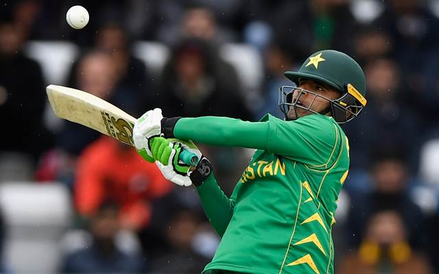 Fakhar Zaman of Pakistan