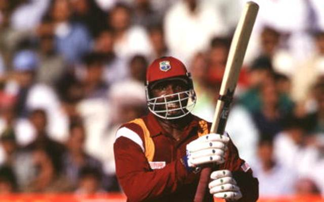 Philo Wallace of West Indies.