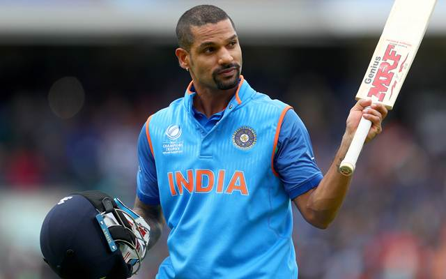 Shikhar Dhawan of India