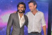 Adam Gilchrist and Ranveer Singh