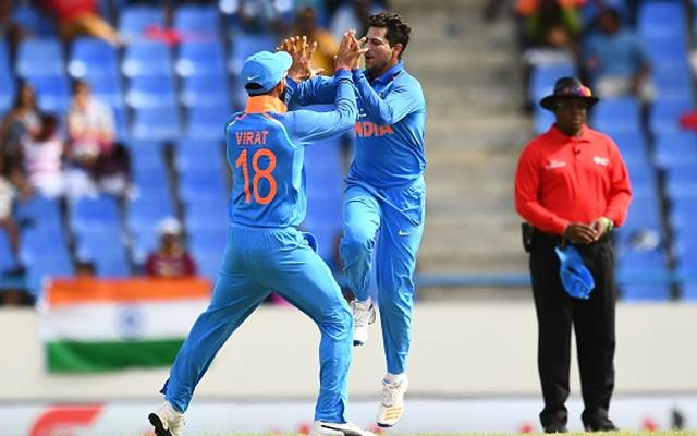 Kuldeep Yadav's Hat-Trick Wildly Celebrated on Twitter