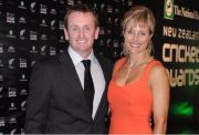 Scott Styris with wife