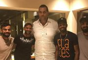 The Great Khali and team India
