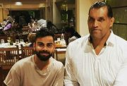 Virat Kohli and The Great Khali