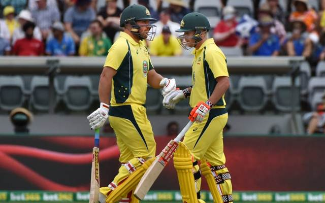 David Warner and Aaron Finch