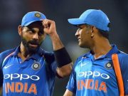 Virat Kohli India and Kuldeep Yadav