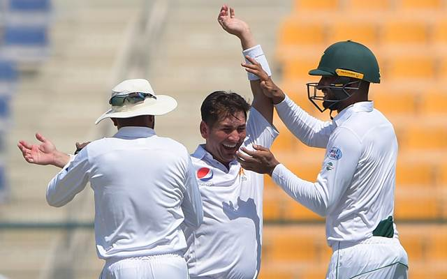 Yasir Shah of Pakistan