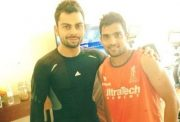 Dishant Yagnik with Virat Kohli