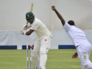 Hamilton Masakadza hits his 5th Test century