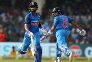 Rohit Sharma and Virat Kohli run between wickets India
