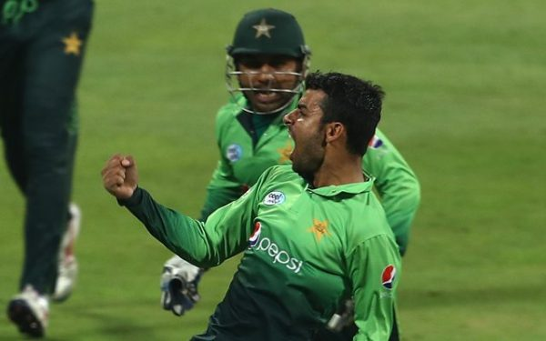 Shadab Khan of Pakistan