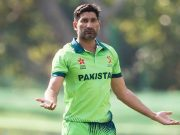 Sohail Tanvir, captain of Pakistan Hong Kong World Sixes 2017