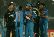 Team India celebrates the victory