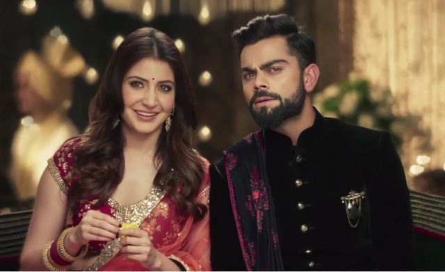 Love Birds Anushka Sharma and Virat Kohli take Wedding vows