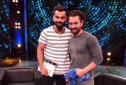Virat Kohli and Aamir Khan