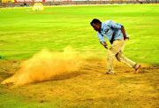 Wet Outfield Hyderabad