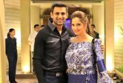 Sania Mirza and Shoaib Malik