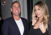 Shane Warne and Emily Sears