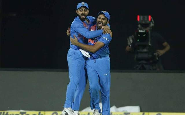 Virat Kohli and Rohit Sharma India
